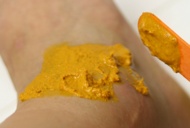 Method Of Using Marigold Paste