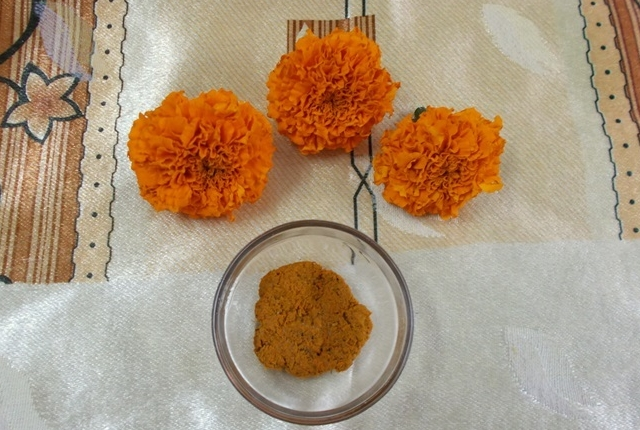 Use Marigold Paste