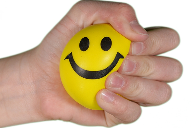 Play With Stress Ball And Putty