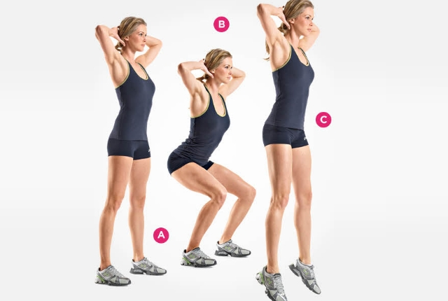 Prisoner Squats Exercise