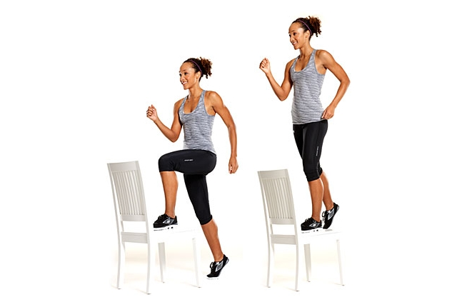 Step-Ups Exercise