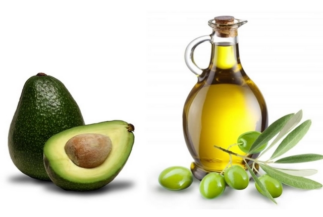Avocado and Olive Oil Hair Mask