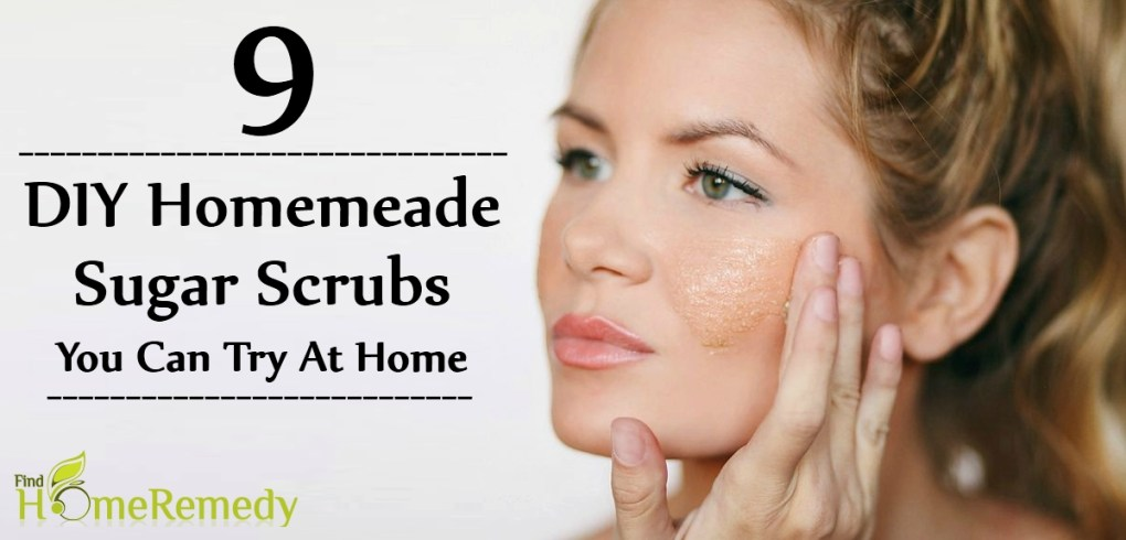 DIY Homemeade Sugar Scrubs You Can Try At Home