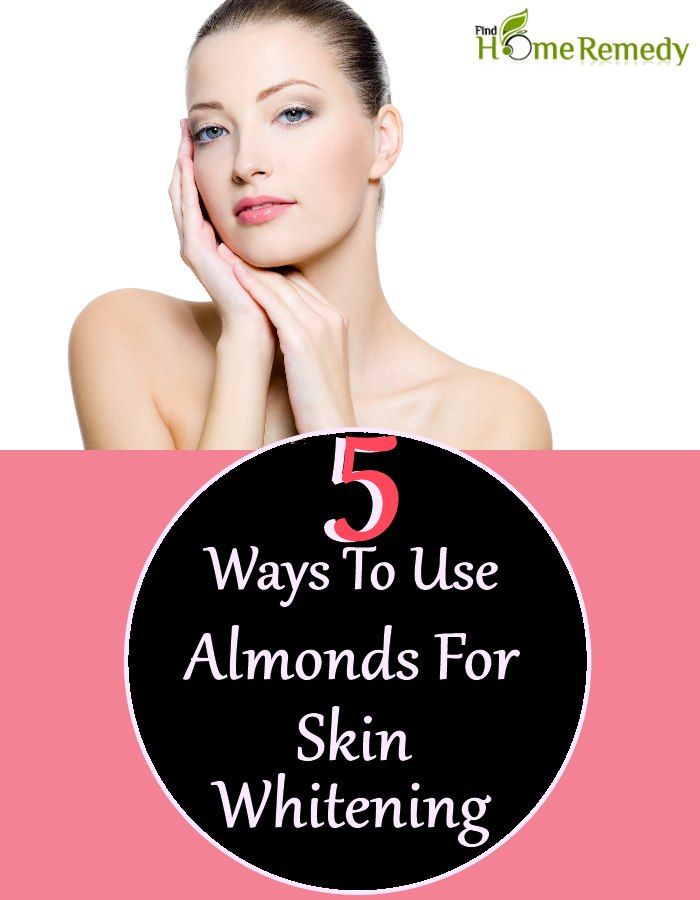 5 Ways To Use Almonds For Skin Whitening