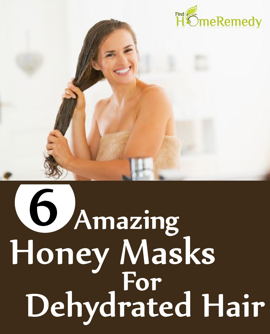 Honey Masks For Dehydrated Hair