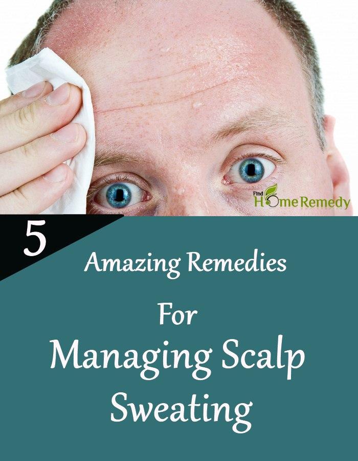 Managing Scalp Sweating