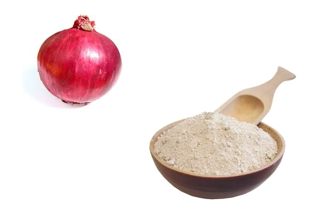 Onion With Fuller's Earth