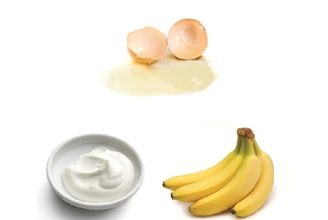 Banana, Yogurt, And Egg White