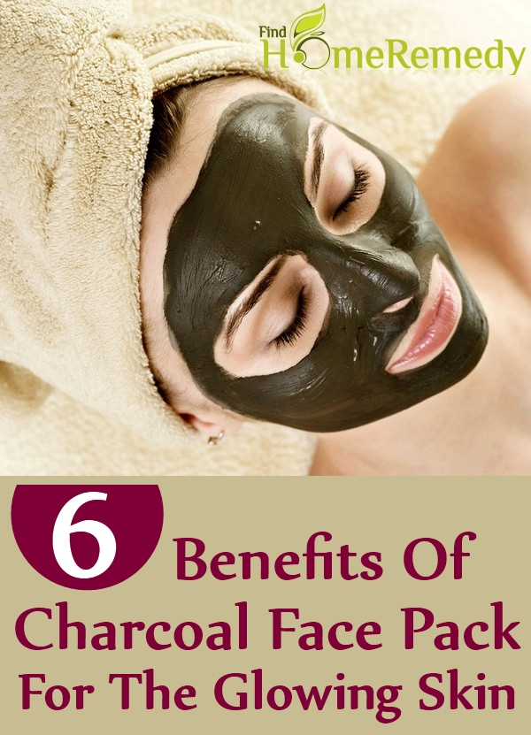 Charcoal Face Pack For The Glowing Skin