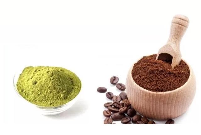 Coffee Powder And Henna