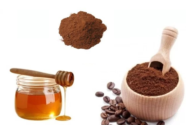 Coffee, Cocoa Powder And Honey Pack