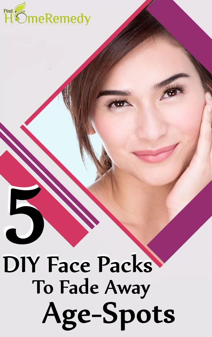 DIY Face Packs To Fade Away Age-Spots