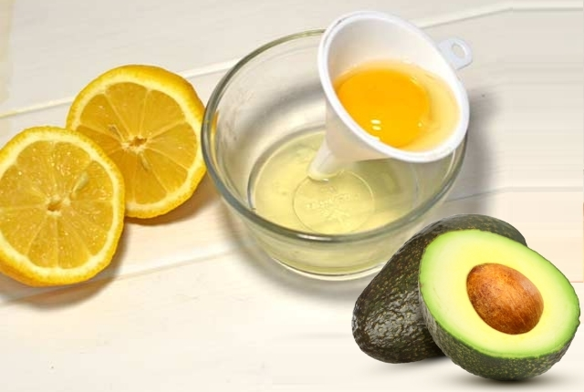 Egg White, Lime Juice, And Avocado