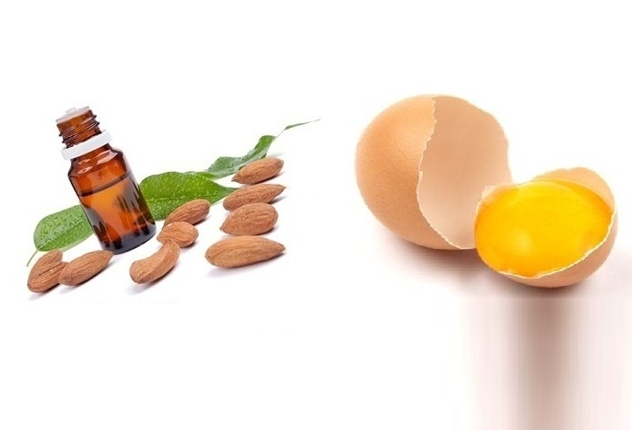 Egg Yolk, Almond Oil Mask