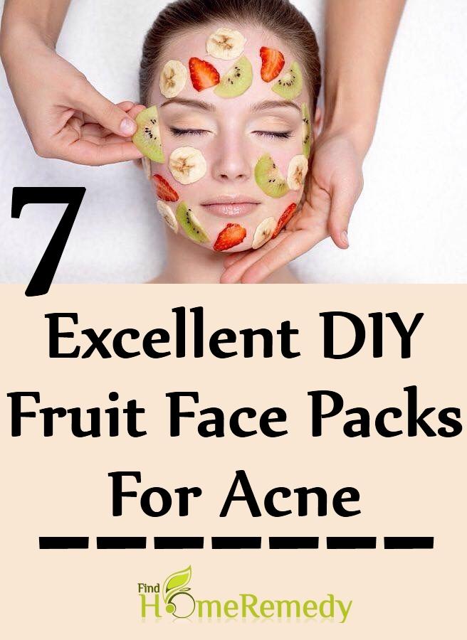 7 Excellent DIY Fruit Face Packs For Acne