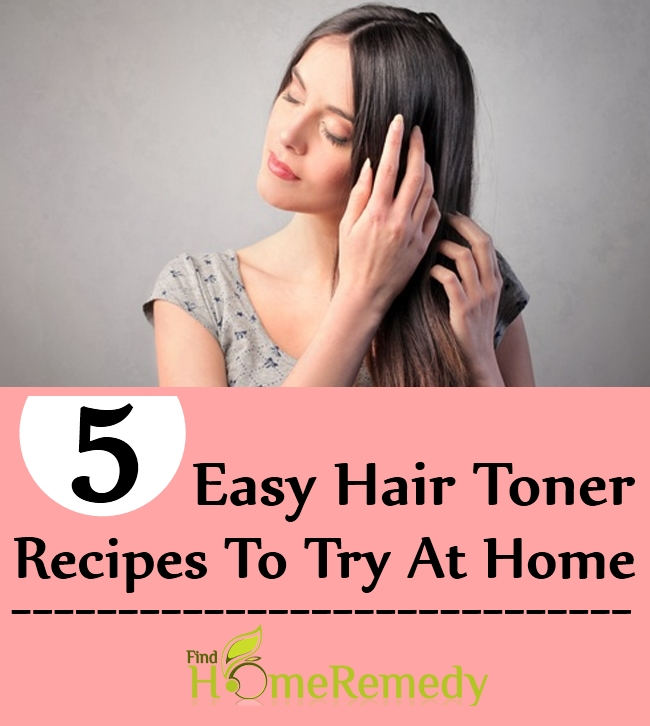 5 Easy Hair Toner Recipes To Try At Home