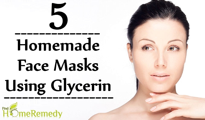 Homemade Face Masks Using Glycerin