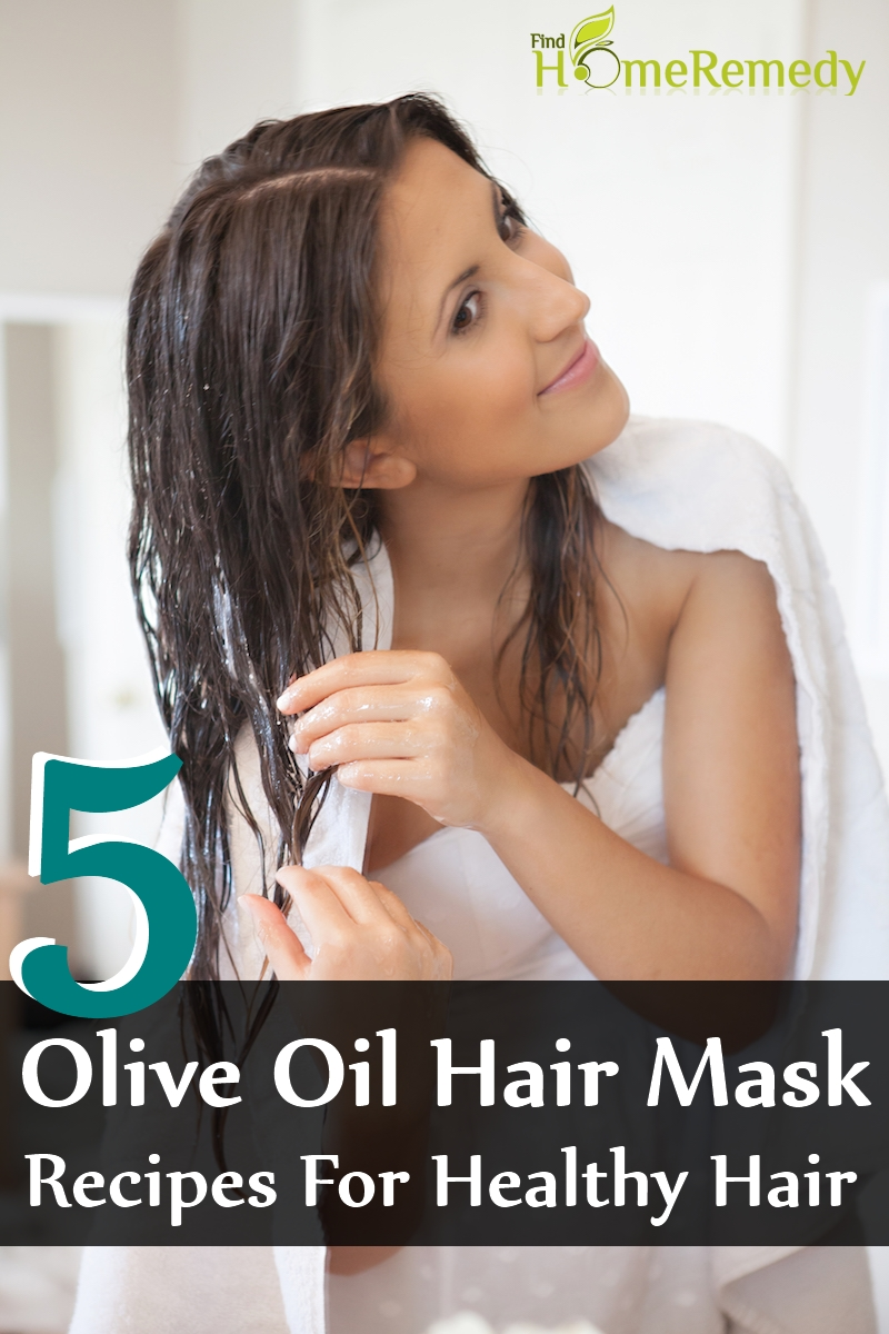 Homemade Olive Oil Hair Mask Recipes For Healthy Hair