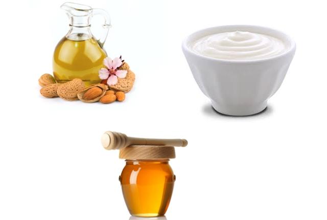 Honey, Almond Oil, And Yogurt