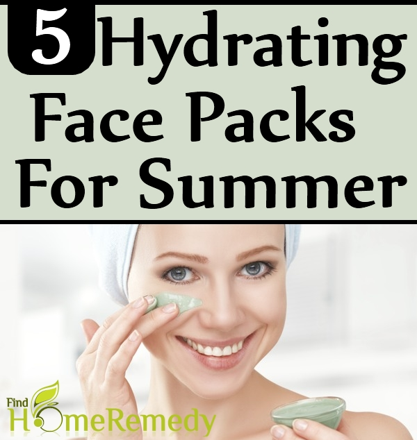 5 Hydrating Face Packs For Summer
