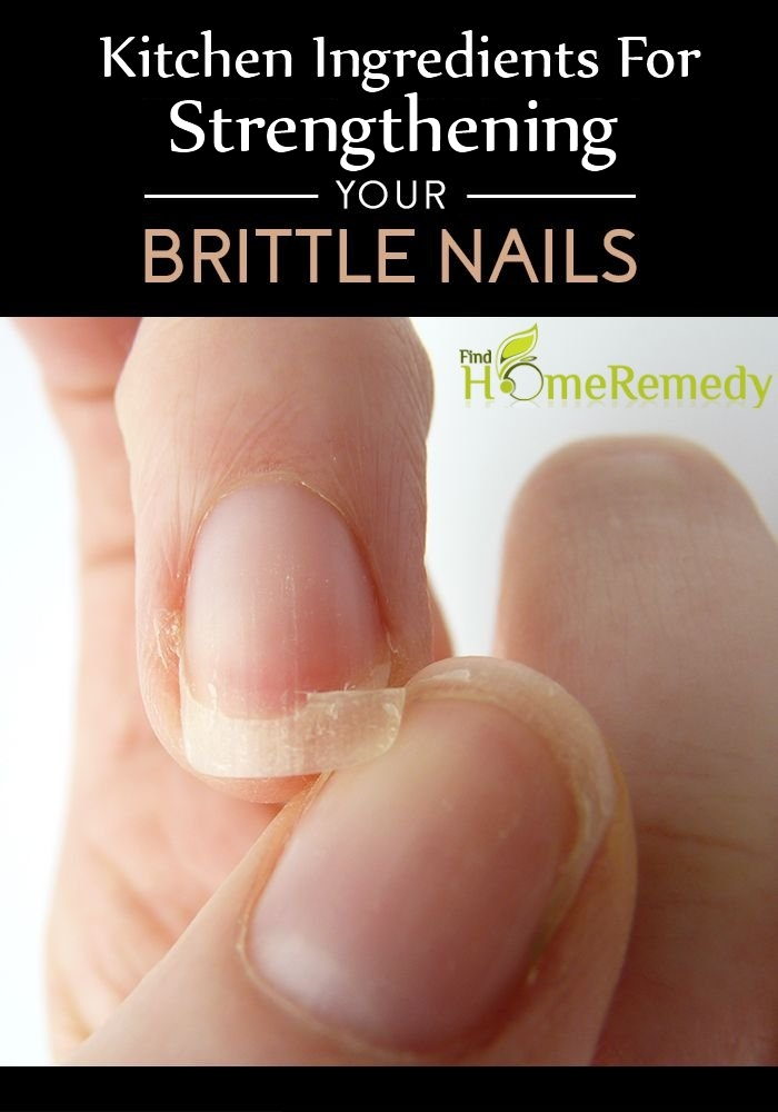 Kitchen Ingredients For Strengthening Your Brittle Nails