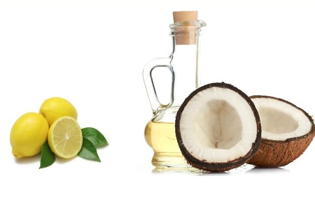 Lemon Juice And Coconut Oil