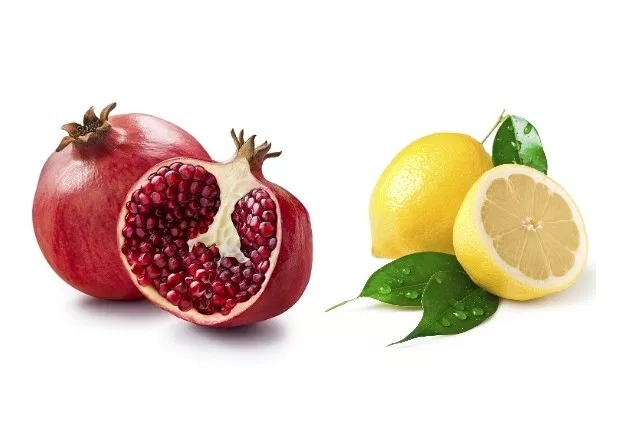 Lemon And Pomegranate Peel