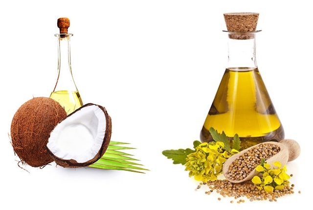 Mustard And Coconut Oil Massage