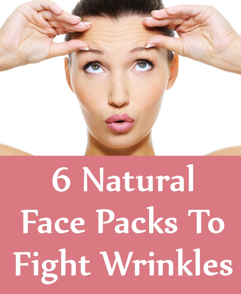 Natural Face Packs To Fight Wrinkles