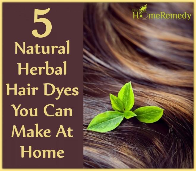 Natural Herbal Hair Dyes