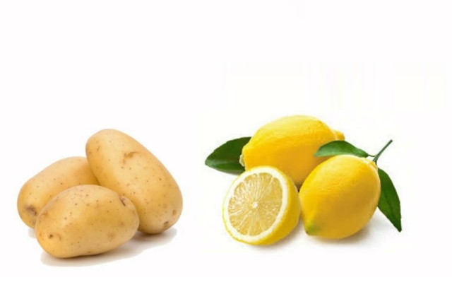 Potato And Lemon Juice