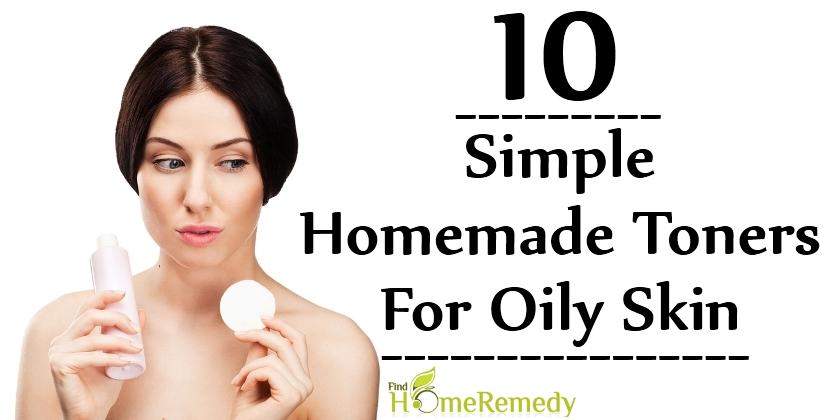 Homemade Toners For Oily Skin