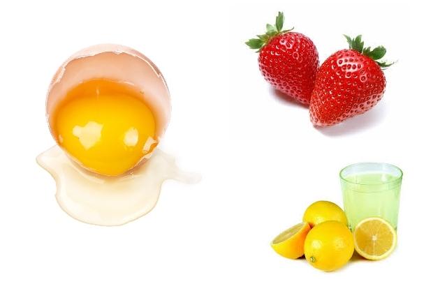 Strawberry, Lemon Juice, And Egg White