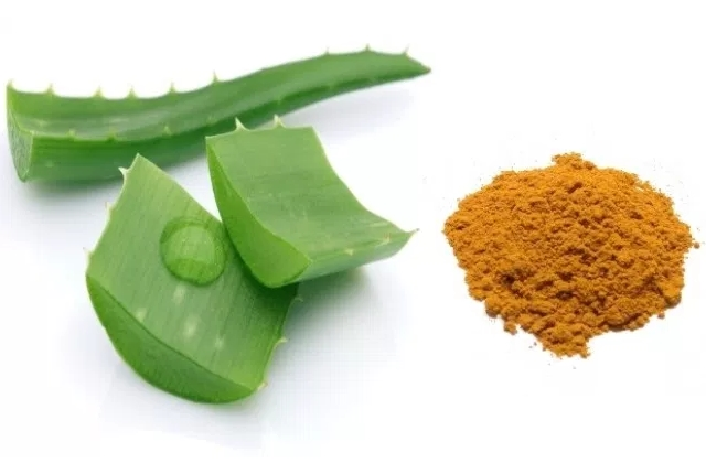 Turmeric And Aloe Vera Gel