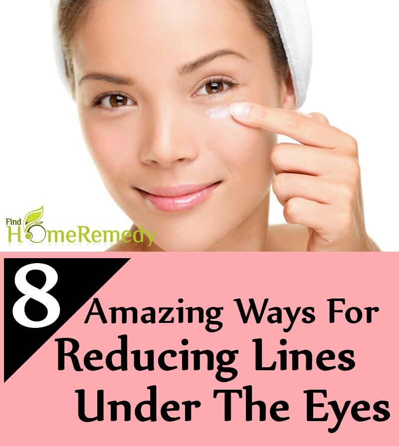 Ways For Reducing Lines Under The Eyes