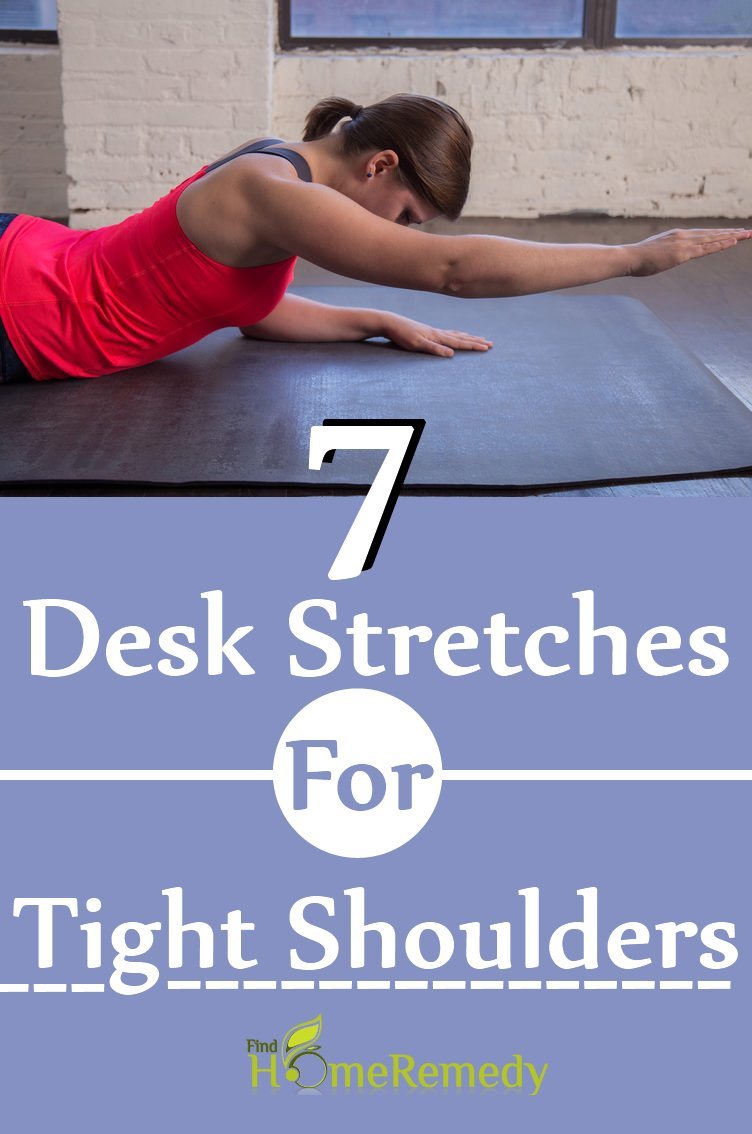 7 Desk Stretches For Tight Shoulders