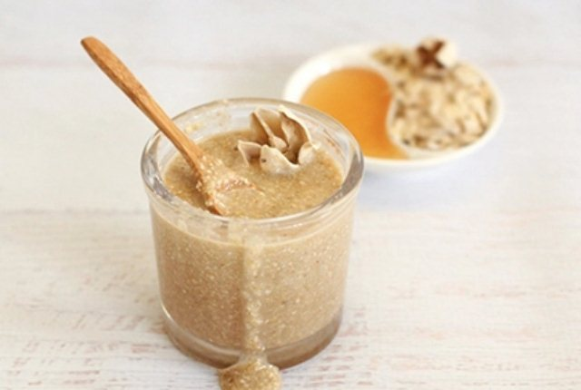 Almond Meal And Olive Oil Scrub