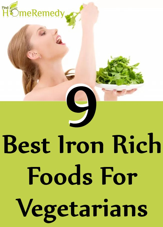 Iron Rich Foods For Vegetarians