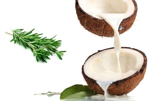 Coconut Milk And Rosemary