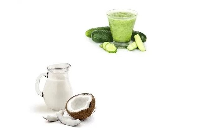 Coconut Milk And Cucumber Soothing Gel