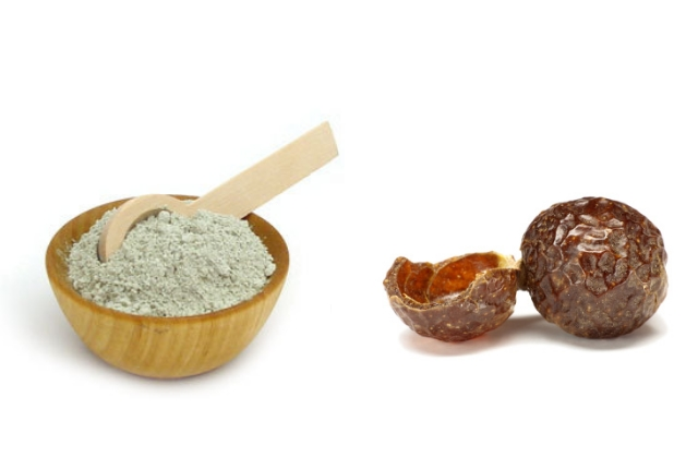 Fuller's Earth And Soap Nut Powder