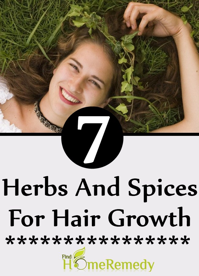 Herbs And Spices For Hair Growth