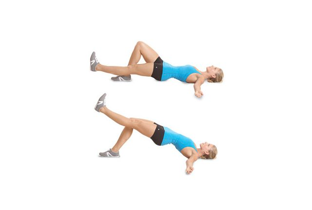 Leg Extension With Hip Thrust