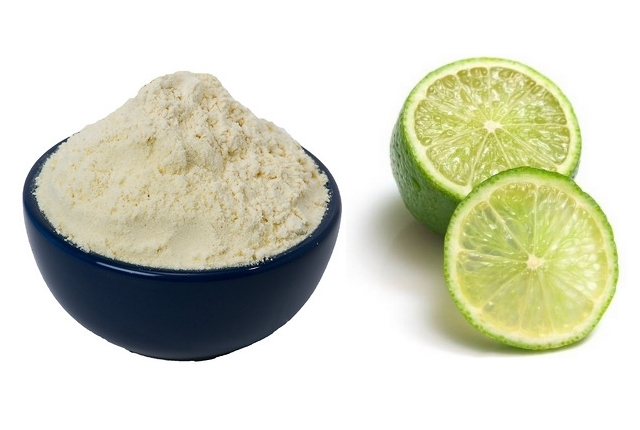 Lime Juice With Gram Flour