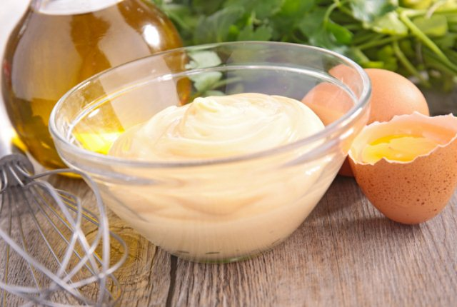 Mayonnaise, Egg Yolk And Olive Oil Pack