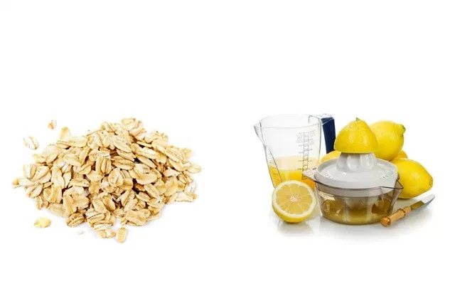 Oatmeal And Lemon Juice