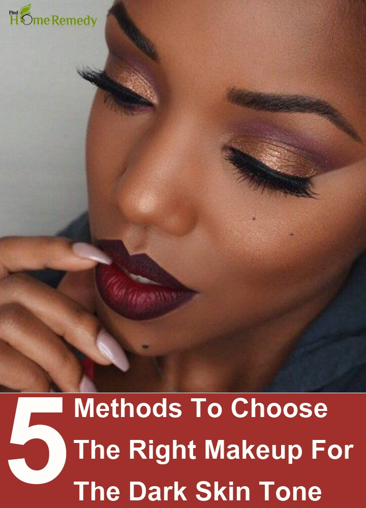 Choose The Right Makeup For The Dark Skin Tone