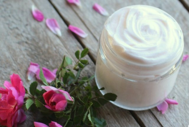 Rose Oil And Cream