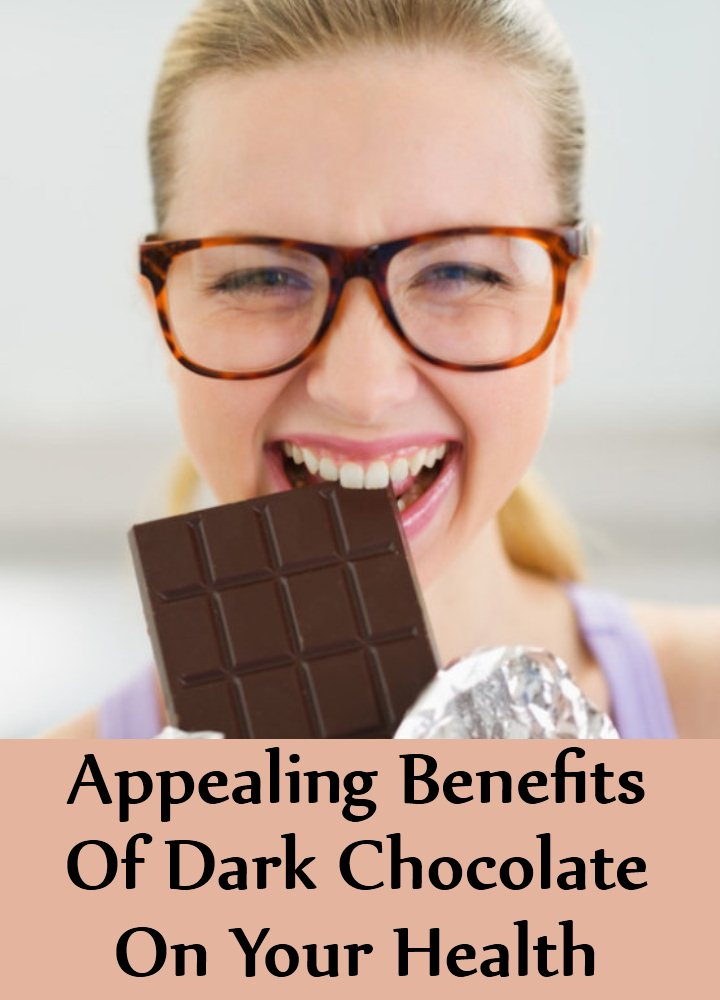 5 Appealing Benefits Of Dark Chocolate On Your Health
