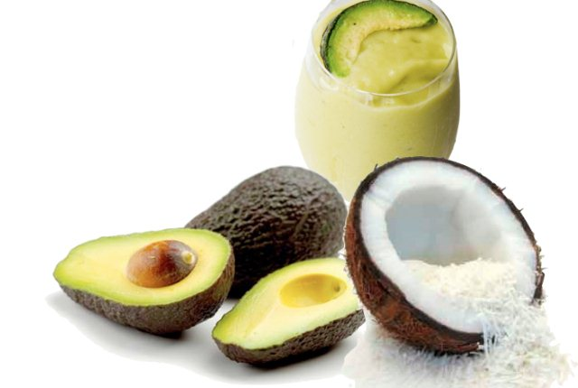 Homemade Face Mask Using Avocado And Coconut Oil